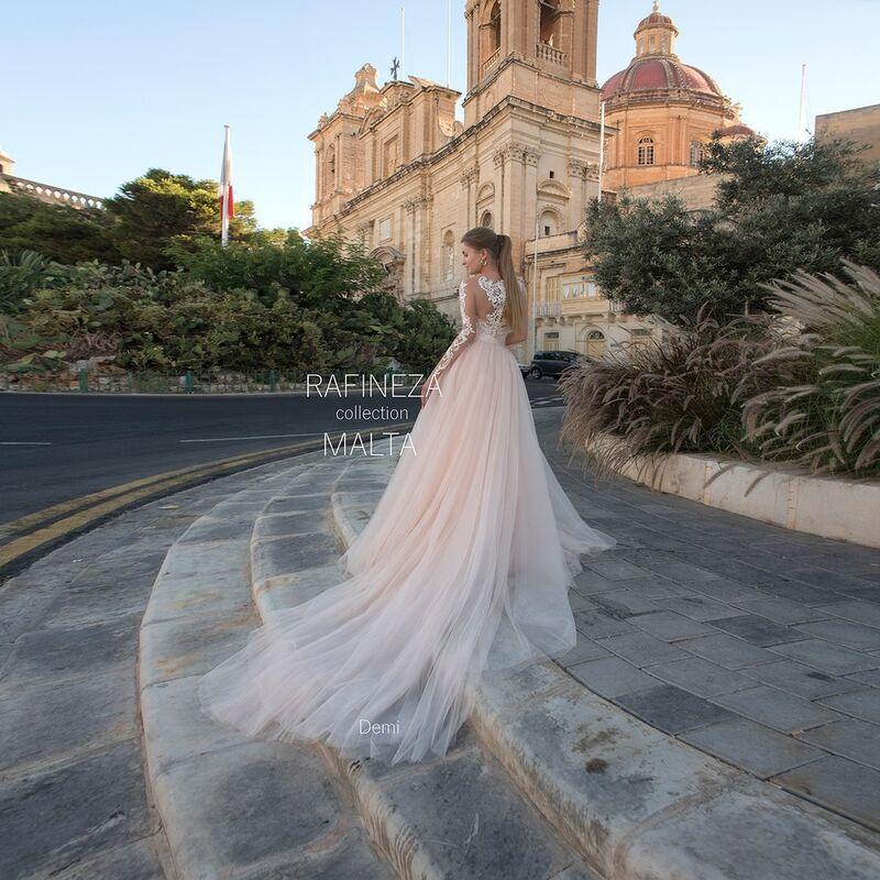 Свадебное платье напрокат Rafineza Платье свадебное Demi напрокат - фото 2