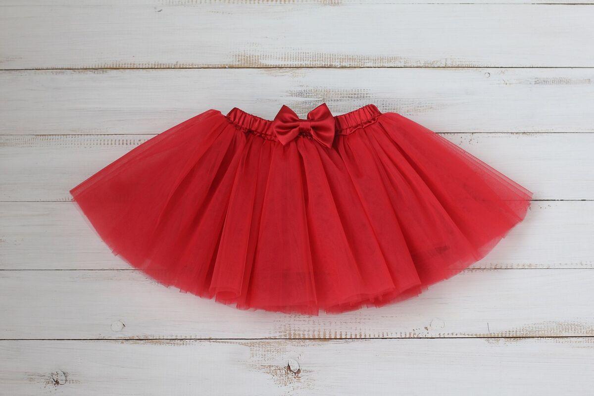 Юбка детская Zefirka Kids Фатиновая юбка алая - фото 1