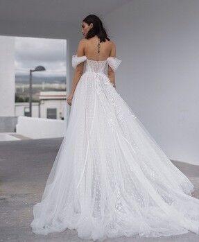 Свадебное платье напрокат Blammo-Biamo Свадебное платье Dream Ocean  Millie - фото 3