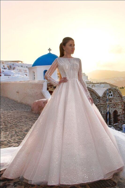 Свадебное платье напрокат Rafineza Свадебное платье Gabriel напрокат - фото 1