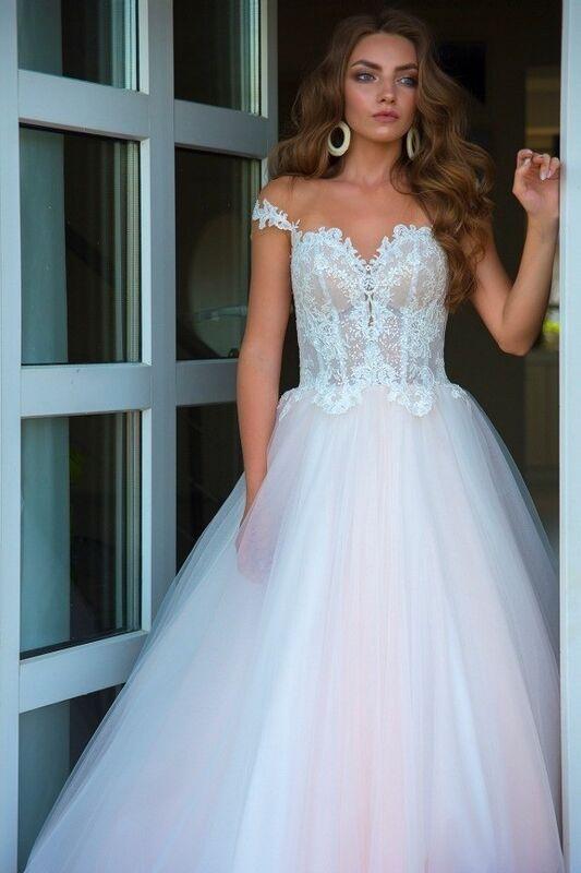 Свадебное платье напрокат Rafineza Свадебное платье Enrica напрокат - фото 2