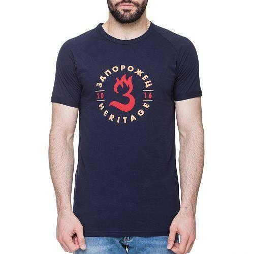 Кофта, рубашка, футболка мужская Запорожец Футболка «Пламя» - фото 4