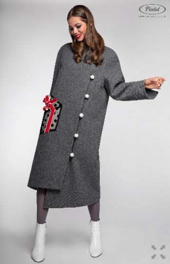 Верхняя одежда женская Pintel™ Пальто Sakshi - фото 4