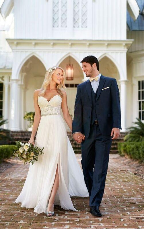 Свадебное платье напрокат Essense of Australia Платье свадебное Celia Shae - фото 2