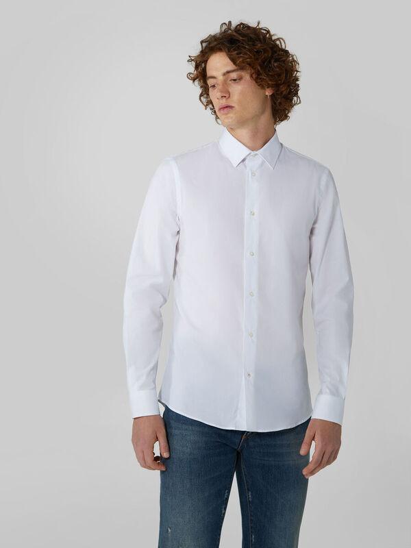 Кофта, рубашка, футболка мужская Trussardi Рубашка мужская 52C00155-1T004673 - фото 1