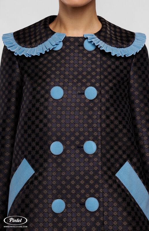 Верхняя одежда женская Pintel™ Комплект из пальто и комбинезона с укороченными шортами Parsis - фото 3
