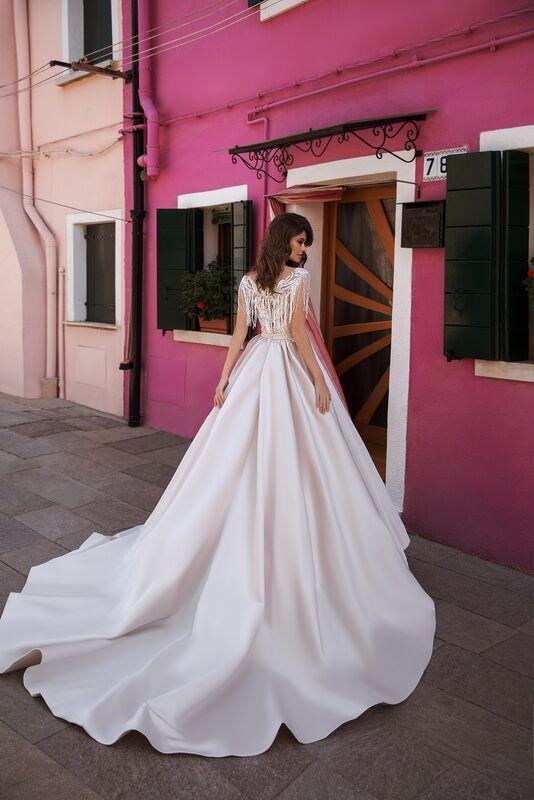 """Свадебное платье напрокат ALIZA свадебное платье  """"Fluvy"""" - фото 2"""