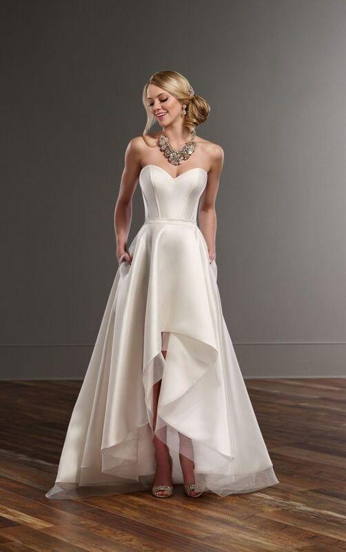 Свадебное платье напрокат Essense of Australia Платье свадебное Carter Sia - фото 1