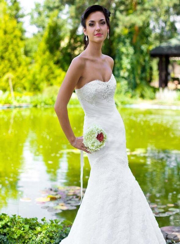 Свадебный салон Robe Blanche Платье свадебное Delfina - фото 2