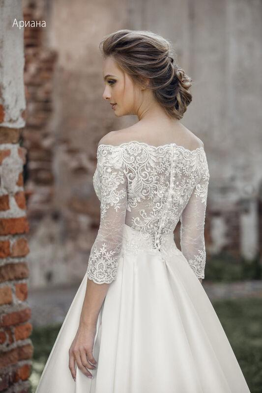 Свадебное платье напрокат Vintage Платье свадебное «Арианна» - фото 3
