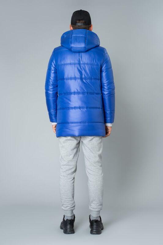 Верхняя одежда мужская Etelier Куртка мужская плащевая утепленная 4М-9469-1 - фото 4