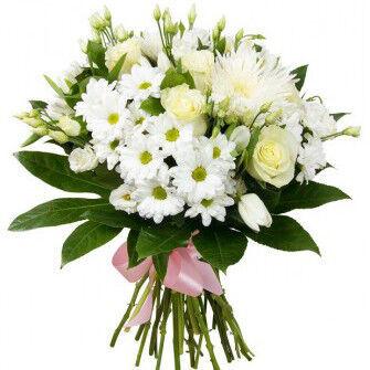 Магазин цветов Фурор Букет «Молочные реки» - фото 1