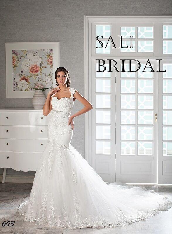 Свадебный салон Sali Bridal Свадебное платье 603 - фото 1