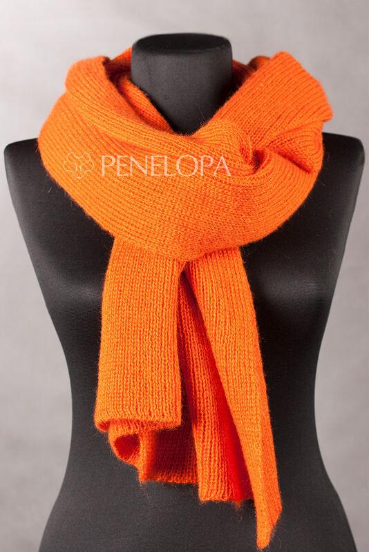 Шарф и платок PENELOPA Яркий вязаный шарф M2 - фото 1