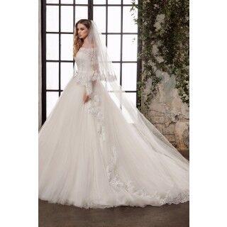 Свадебное платье напрокат Nora Naviano Платье свадебное Brynna - фото 2