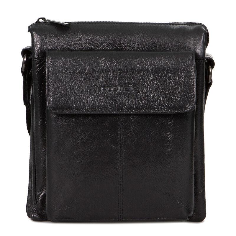 Магазин сумок Poshete Сумка мужская черная 186-7040А - фото 1