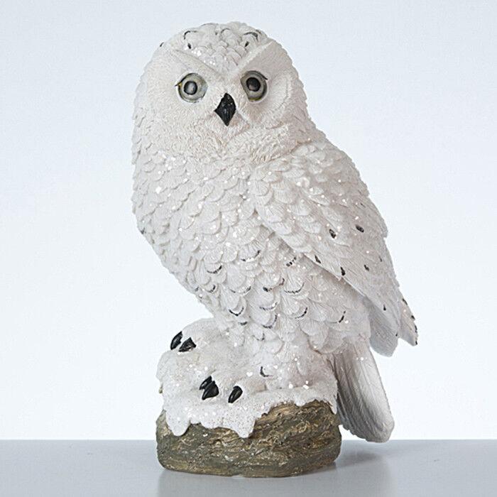 Подарок на Новый год mb déco Статуэтка новогодняя «Снежная сова» 56303/AMS - фото 1