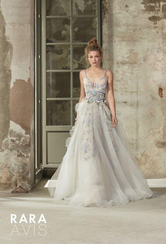 Свадебное платье напрокат Rara Avis Платье свадебное Floral Paradise  Selbi - фото 1