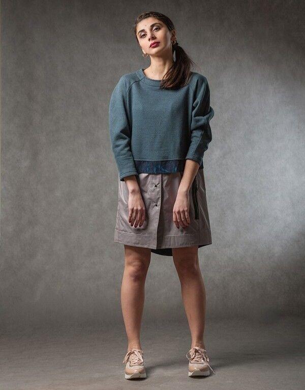Платье женское MISUTERI Платье Kumiawase MSS0115 - фото 1