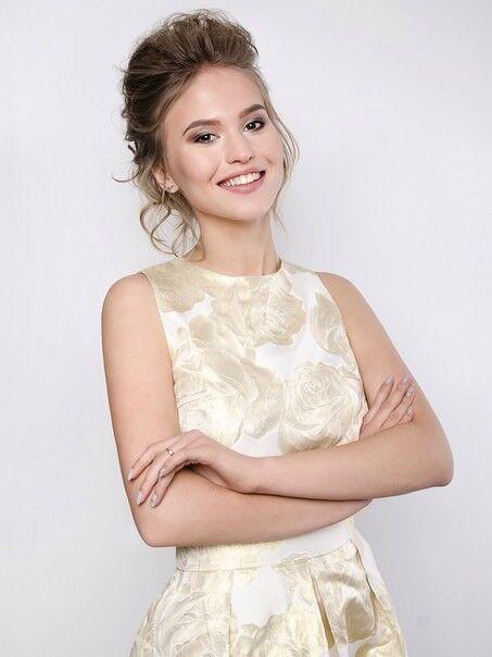 Вечернее платье SHI-SHI Стильный комплект из золотого топа и юбки солнце 116 - фото 2