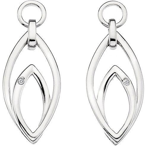 Ювелирный салон Hot Diamonds Серьги серебряные DE345 - фото 1