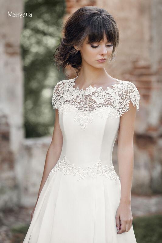 Свадебное платье напрокат Vintage Платье свадебное «Мануэла» - фото 3