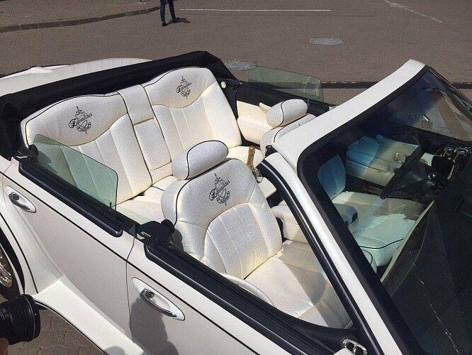 Прокат авто Excalibur Белый - фото 8