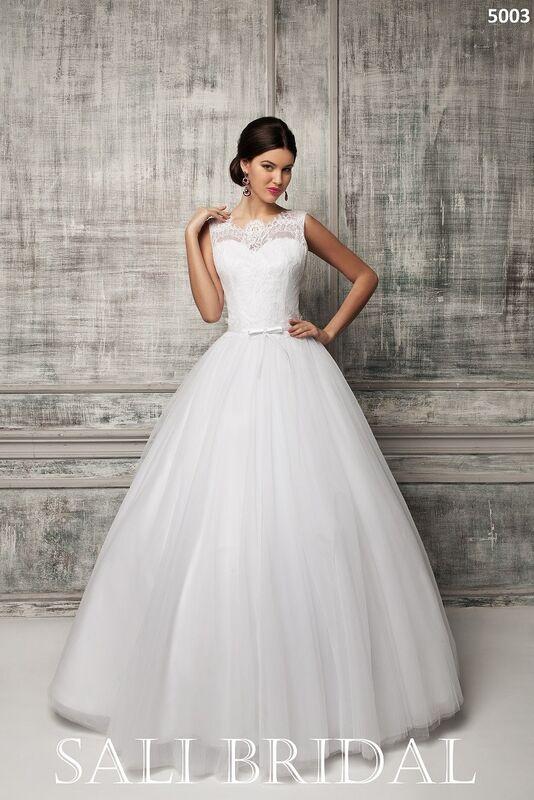 Свадебное платье напрокат Sali Bridal Платье свадебное 5003 - фото 1