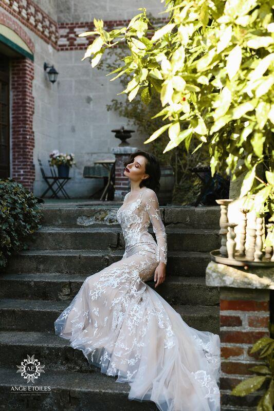 Свадебное платье напрокат Ange Etoiles Платье свадебное AEriality Collection Rosaly - фото 4