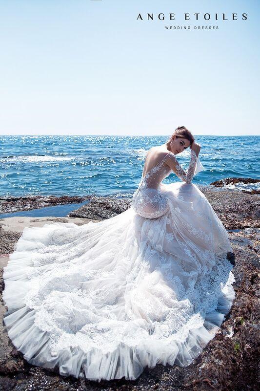 Свадебное платье напрокат Ange Etoiles Свадебное платье Ali Damore  Sara - фото 4