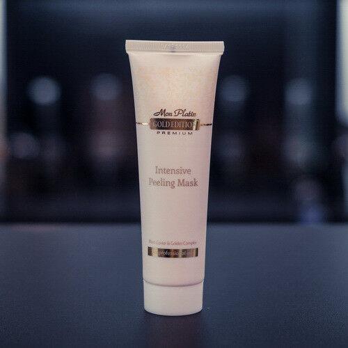 Уход за лицом Mon Platin Интенсивная пилинг-маска для глубокого очищения кожи лица, обогащённая экстрактом чёрной икры 100 мл. - фото 1