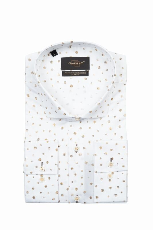 Кофта, рубашка, футболка мужская GIVERNO Сорочка верхняя мужская GS83 - фото 1