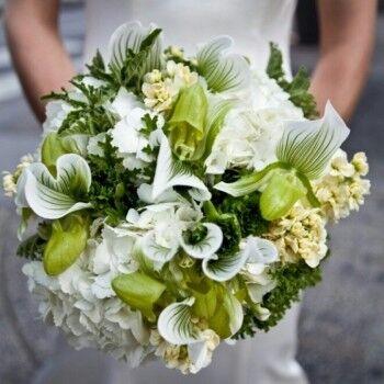 Магазин цветов Ветка сакуры Свадебный букет № 60 - фото 1