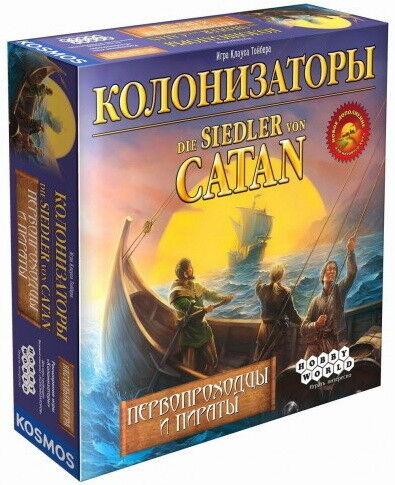 Магазин настольных игр Hobby World Настольная игра «Колонизаторы. Первопроходцы и пираты» - фото 1