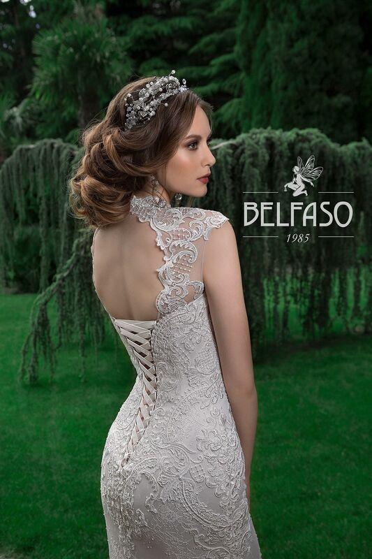 Свадебное платье напрокат Belfaso Платье свадебное Gvinet - фото 4