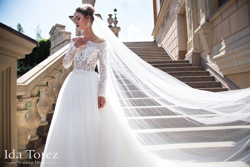 Свадебный салон Ida Torez Платье свадебное Ophelia - фото 3