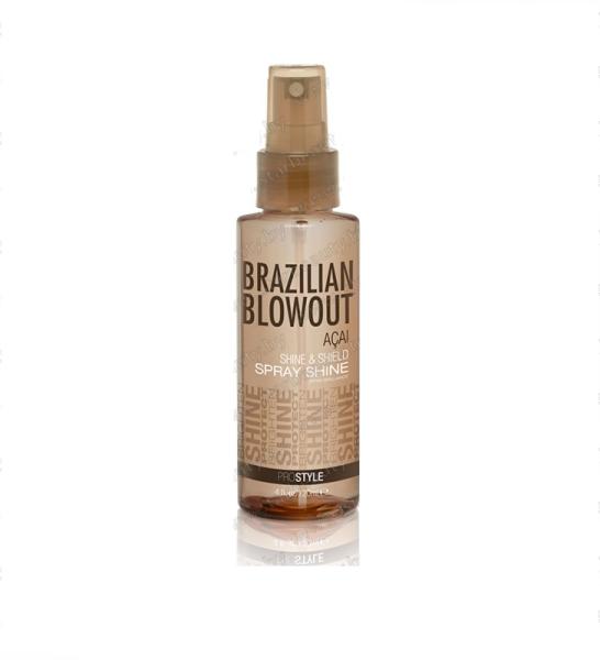 Уход за волосами Brazilian Blowout Защитный спрэй-блеск для волос, 120 мл - фото 1