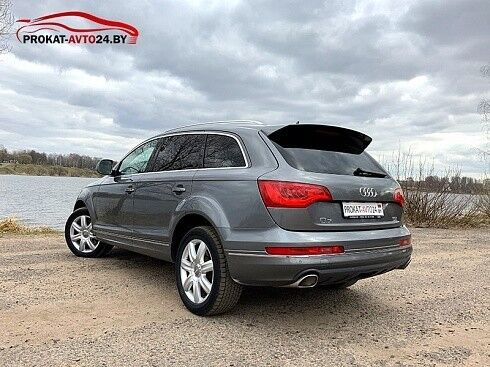 Прокат авто Audi Q7 2012 серый - фото 6