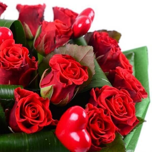 Магазин цветов Букетная Букет «Пламенное сердце» - фото 3