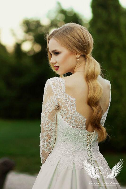 Свадебный салон ALIZA Платье свадебное «Грация» Soffito - фото 4