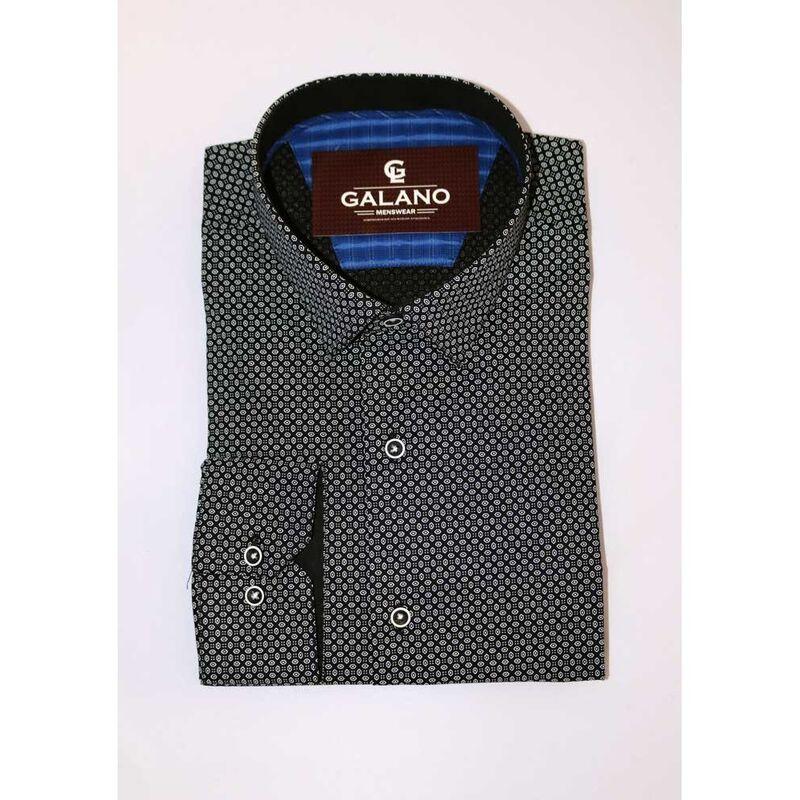 Кофта, рубашка, футболка мужская Galano Рубашка Slim fit - фото 3