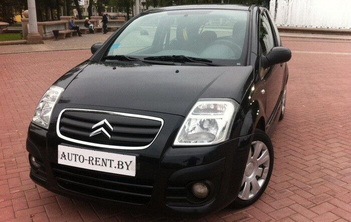 Аренда авто Citroën C2 Black - фото 1