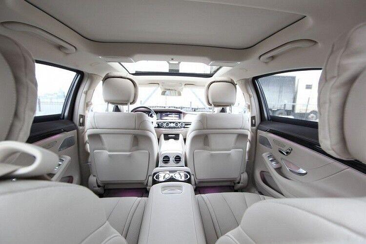 Прокат авто Mercedes-Benz W222 S-class белого цвета - фото 6