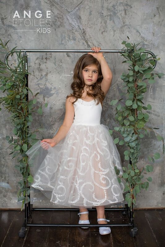 Вечернее платье Ange Etoiles Детское платье Kids Anitta - фото 1
