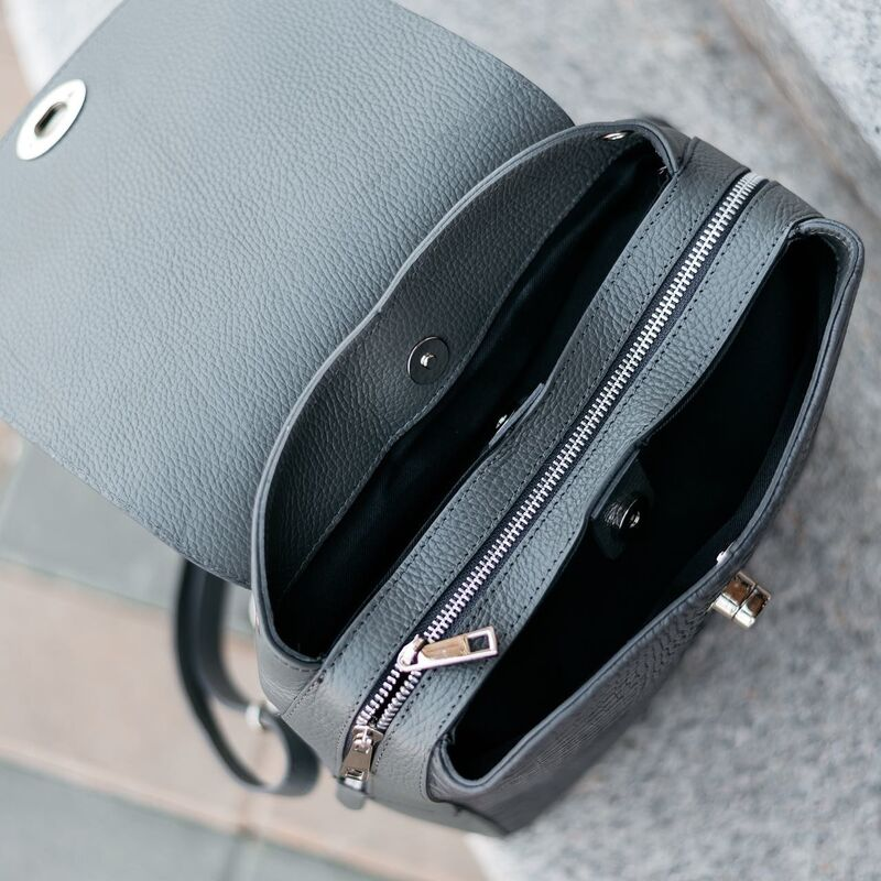 Магазин сумок Vezze Кожаный женский рюкзак C00531 - фото 3