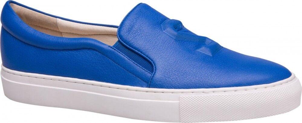 Обувь женская Ekonika 2 Слипоны женские 1384-05 blue - фото 1