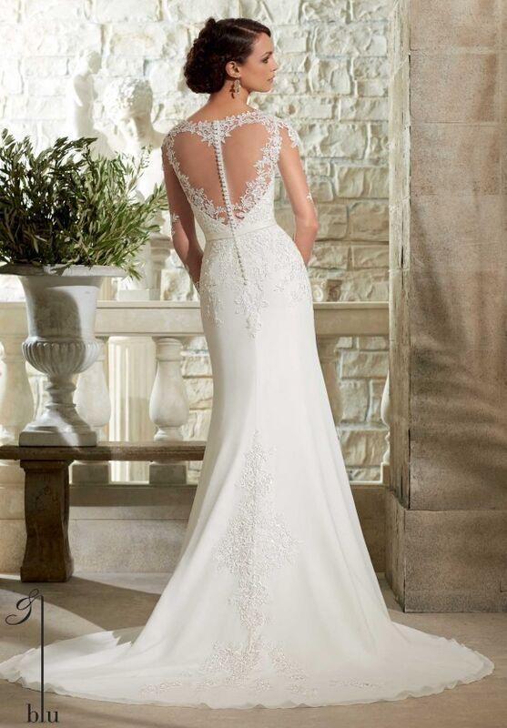 Свадебный салон Mori Lee Свадебное платье Blu 5306 - фото 2