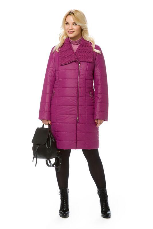 Верхняя одежда женская Elema Пальто женское плащевое утепленное Т-6803 - фото 1