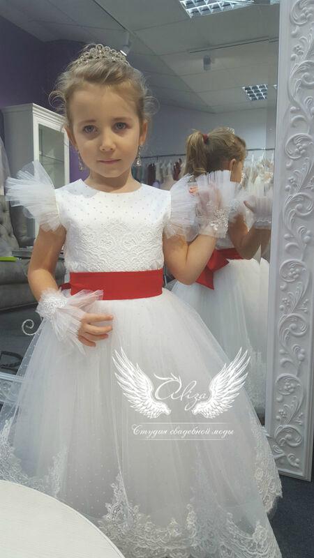 """Платье детское ALIZA детское платье """"Луиза 2"""" - фото 1"""