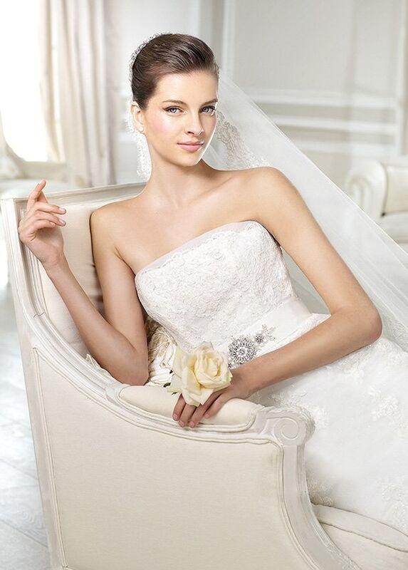 Свадебное платье напрокат White One (Pronovias) Платье свадебное «Jaramil» - фото 3